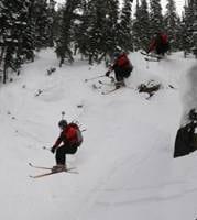 Chiropractor Banff AB David Fullerton Skiing